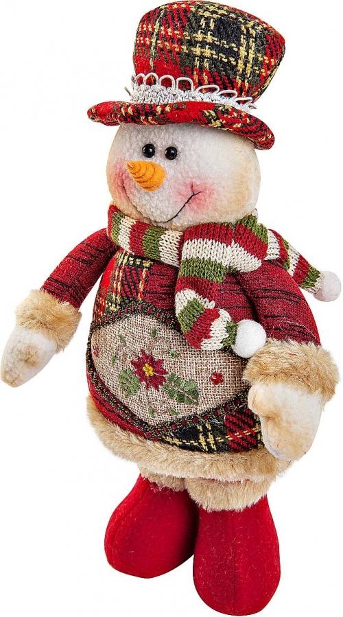 Мягкие игрушки своими руками снеговиков